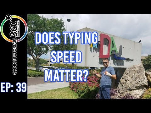 Does Typing Speed Matter for Coding? Ask A Dev. Episode 39