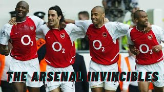THE ARSENAL INVINCIBLE'S RUN | Full Highlights Reel | 2003/2004 | [HD]