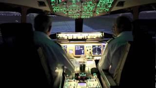 Boeing 777 Flight Simulator takeoff at Los Angeles
