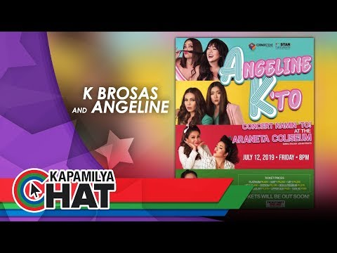 "Kapamilya Chat with K Brosas and Angeline Quinto for ""Angeline K 'to Concert"""