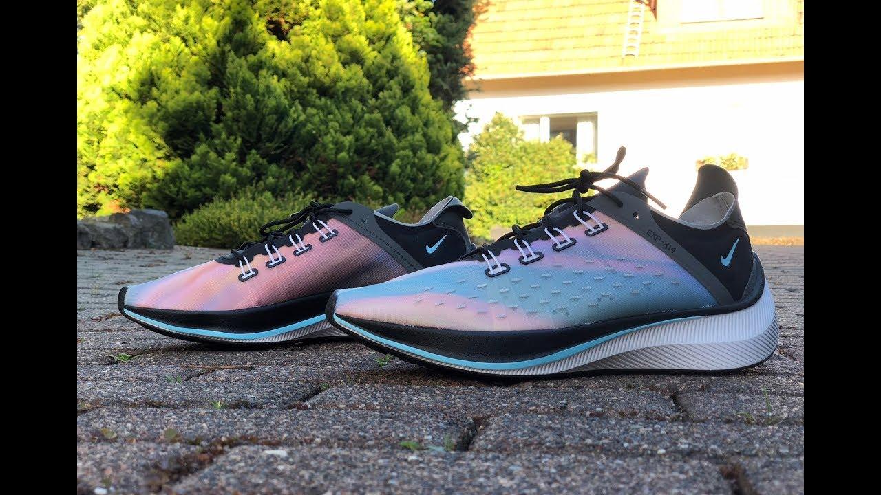 Nike EXP X14 QS 'blackwolf grey dark grey' | UNBOXING & ON FEET | running shoes