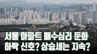서울 아파트 매수심리 둔화…하락 신호? 상승세는 지속? [뉴스 9]