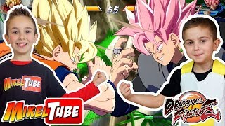 GamePlay Dragon Ball FighterZ en MikelTube