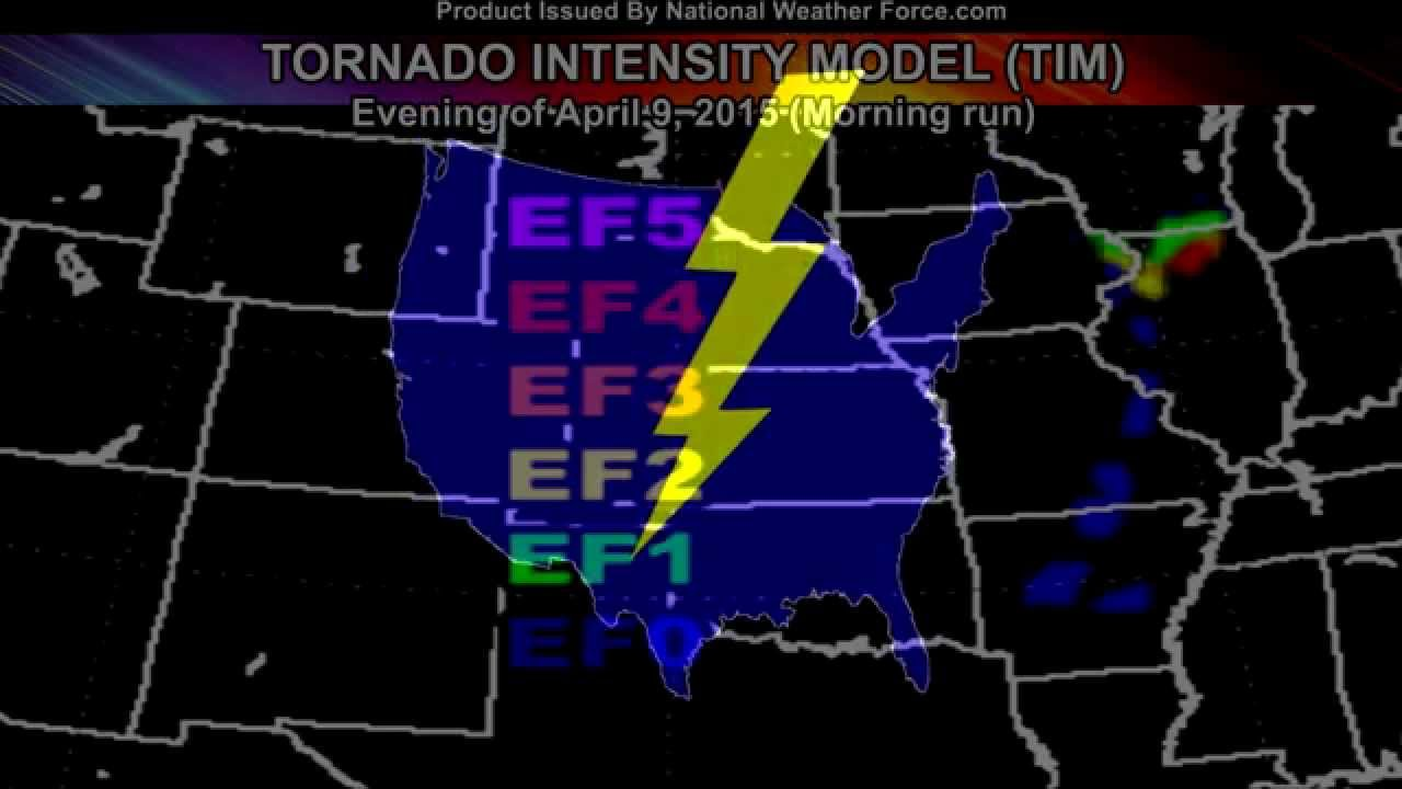 Fairdale Illinois Tornado 4 9 2015 Predicted By Tornado Intensity