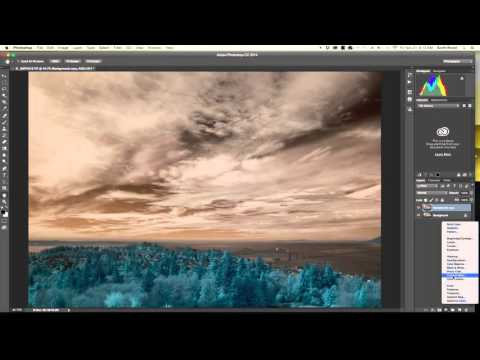How to swap the red and blue channels in Adobe Photoshop