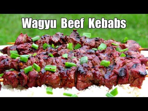 Asian Marinated Beef Shish Kebabs - How To Make Shish Kebabs - Grilled Shish Kebab Recipe