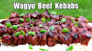 Asian Marinated Beef Shish Kebabs - How To Make Shish Kebabs - Grilled Shish Kebab Recipe