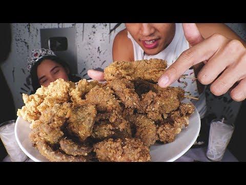 Atay Isaw Proben MUKBANG | Filipino Street Foods