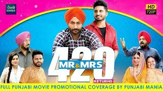 Watch Mr & Mrs 420 Returns Full Punjabi Movie Promotions on Punjabi Mania | Jassie Gill, Ranjit Bawa