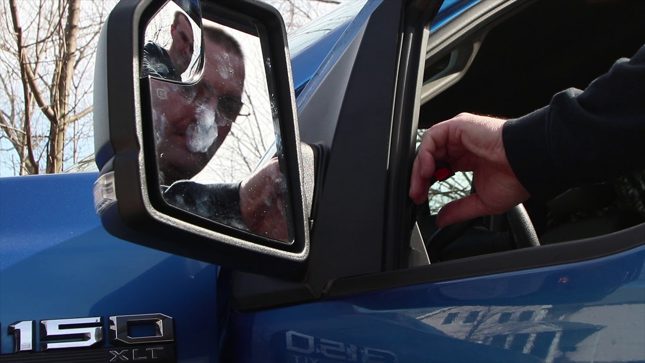 New Right Passenger Side Mirror Glass Replacement For Ford F-150 Pickup 2015 2016 2017 2018