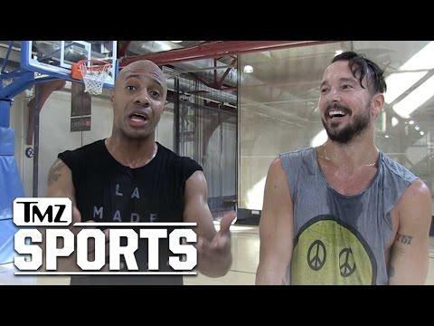 Ex-NBAer Jay Williams Turns Up The Heat On Andrew Schulz... LET'S DOUBLE OUR 1-ON-1 BET | TMZ Sports