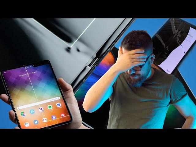 DISASTRO Samsung, il Galaxy Fold si ROMPE facilmente
