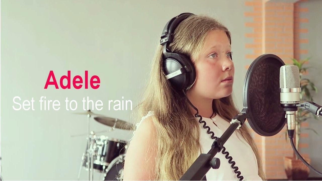 Set Fire To The Rain Cover By Alisa Ulianova