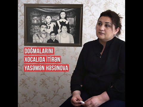 """""""Ana Eşidirdi Ki, O Biri Kamerada Balasına Işgəncə Edirlər""""-Xocalı şahidi Yasəmən"""