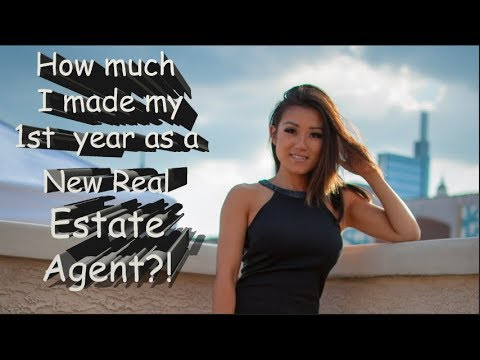 How much did I make my 1st year in Real Estate?