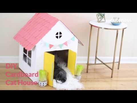 How To Build A Cat House - Cuteness.com