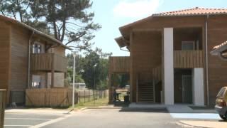 L'office public de l'habitat des Landes montre l'exemple avec ses habitations en pin