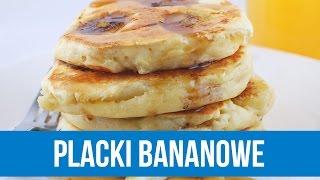 PLACKI BANANOWE | Prosty przepis na zdrowe śniadanie