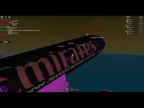 [ROBLOX]  Flight onboard the Emirates Executive Jet!