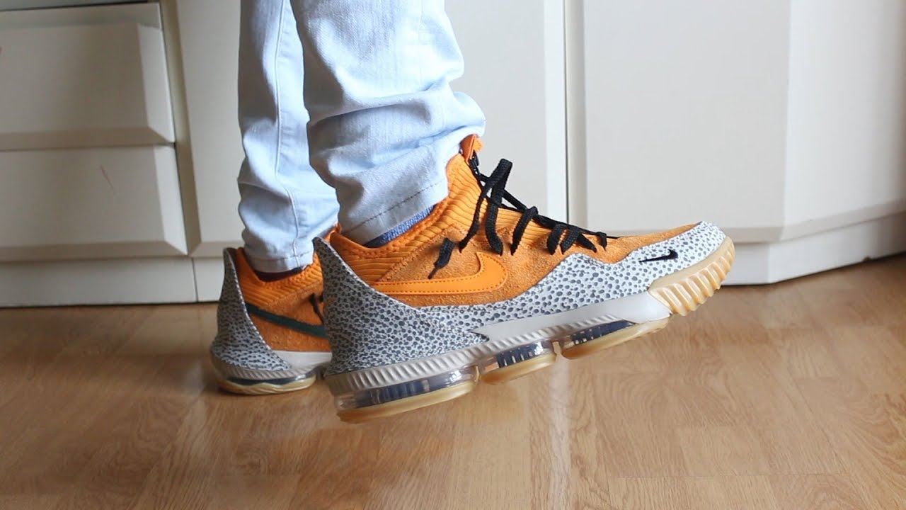 REVIEW ATMOS X NIKE LEBRON 16 LOW SAFARI ON FEET / DOPE OR NOPE