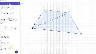Using the VECTOR POLYGON Tool in GeoGebra