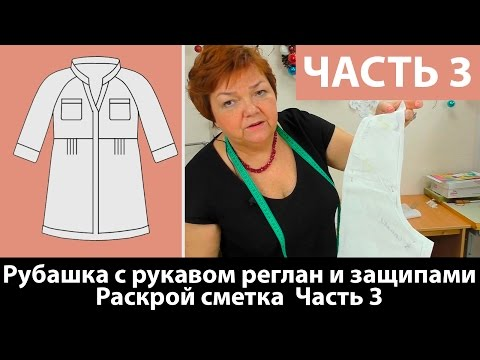 Блузка с цельнокроенным рукавом