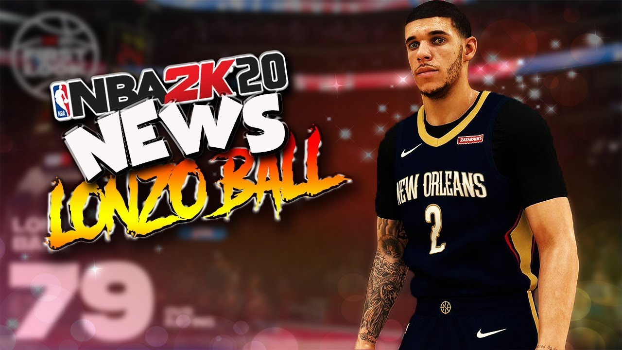NBA 2K20 News #14 - Lonzo Ball / Park ...