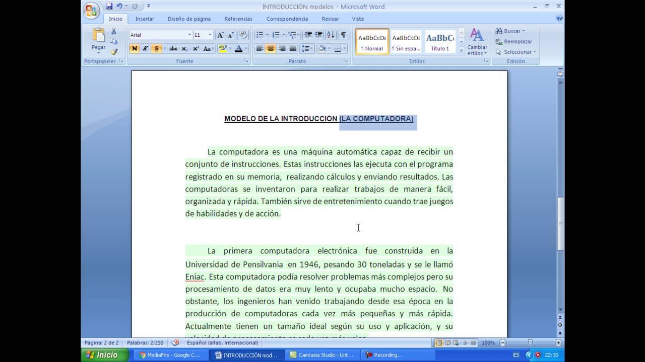 Introducción De Un Trabajo de Investigación - Explicación Completa ...