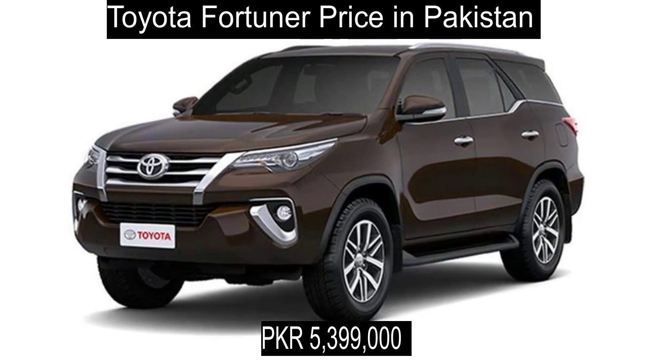 Toyota Fortuner Price In Pakistan Youtube
