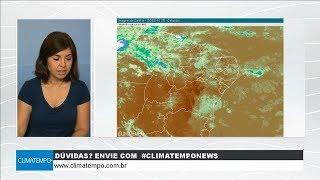 Condições de chuva voltam a aumentar sobre o Nordeste
