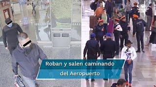 Dos hombres interceptaron y amagaron con armas de fuego a la empleada de una casa de cambio en la terminal aérea número uno