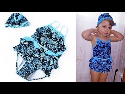 Закрытый модный детский купальник с юбкой или купальный костюм для девочек. Aliepress