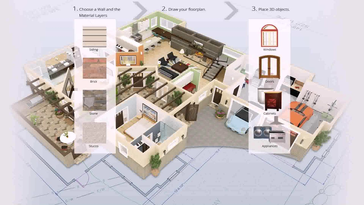 Floor Plan Design Software For Mac Part Room Os X With 3d