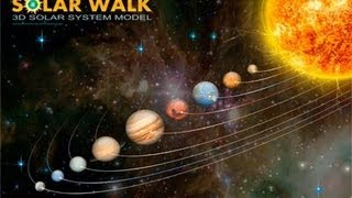 Solar Walk - 3D Solar System Model - iPhone App Review