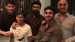Maheshbabu with mega power star ramcharan tej || gautham krishna,galla jayadev