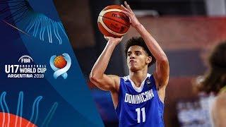 Serbia v Dominican Republic - Class 9-10 - Full Game - FIBA U17 Basketball World Cup 2018