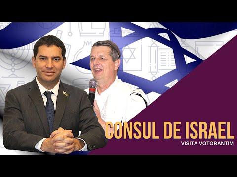 VISITA DO CÔNSUL DE ISRAEL A VOTORANTIM
