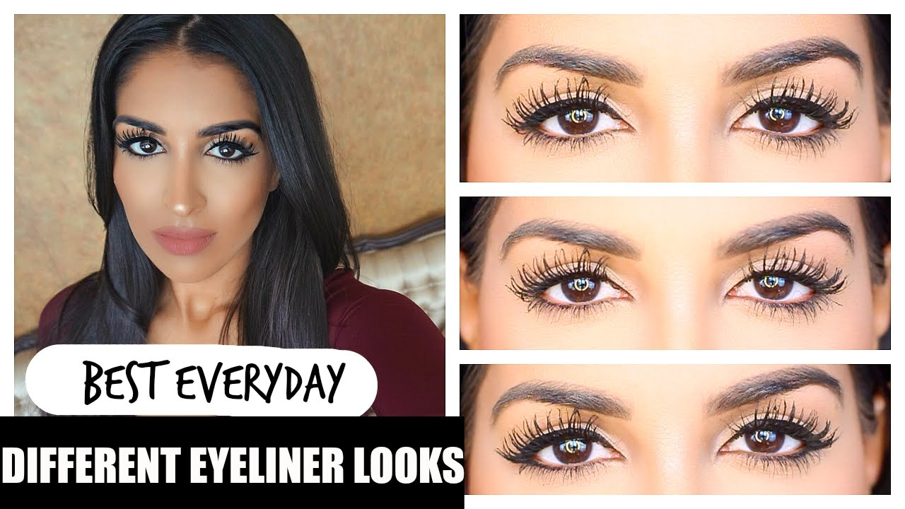Different Eyeliner Looks - Non Winged Eyeliner + tips