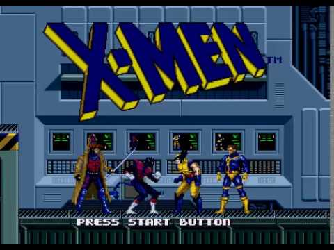 Mega Drive Longplay [449] X-Men