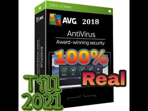 avg internet security 2019 license number