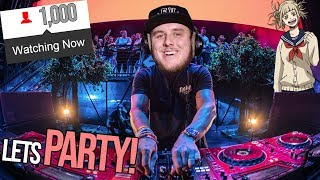 i hit 1000 viewers, so I made a WAIFU RAVE!!! (Live Loop Improv)