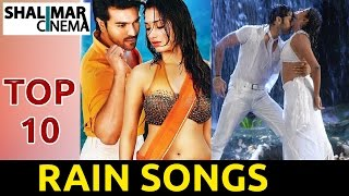 Top 10 Telugu Romantic Rain Songs Jukebox || Best Collections || Telugu Romantic Songs