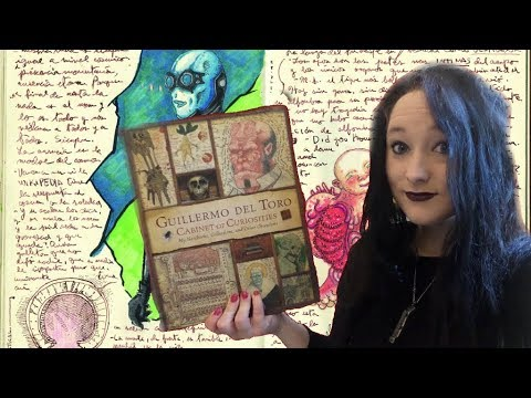 *ASMR* A Relaxing Look through Guillermo del Toro: Cabinet of Curiosities | Amy McLean