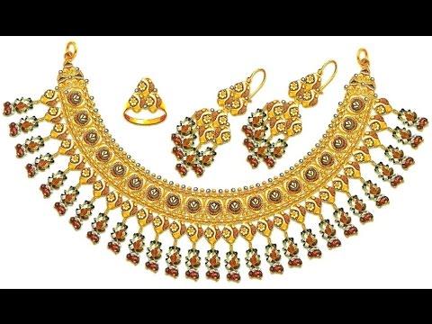 Gold Jewelry - Gold Jewelry India - Gold Jewelry Findings