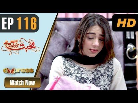 Mohabbat Zindagi Hai - Episode 116 - Express Entertainment Dramas