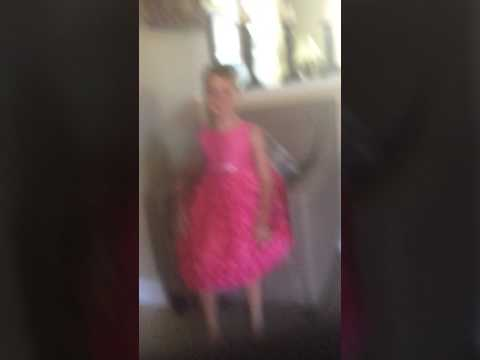 The boy who had a pink dress