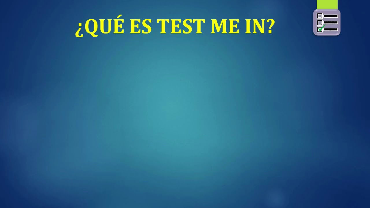 Ministerio Del Interior Test Me In