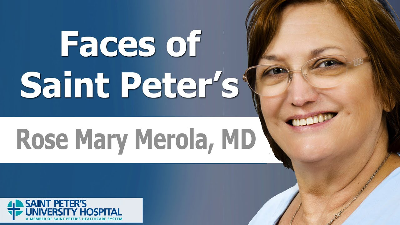 Rose Merola   Saint Peter's HealthCare System