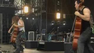 apocalyptica enter sandman live in rock in park