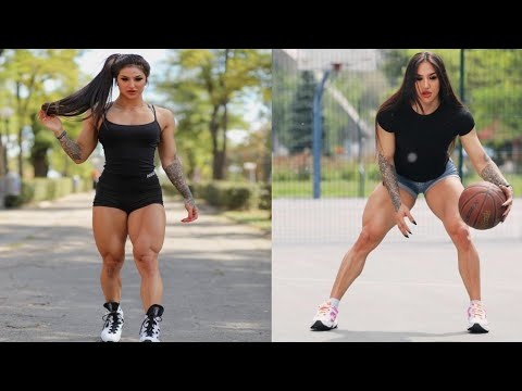 FEMALES BODYBUILDING, – Bakhar Nabieva, IFBB MUSCLE,GYM WORKOUT, BEAUTIFUL GIRL,